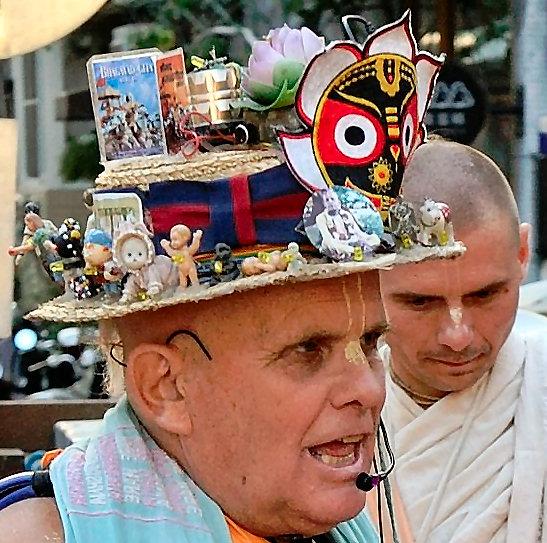 Mahavishnu Swami's Hat