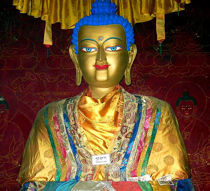 Lord Buddha Shakyamuni - merciful and compassionate - ahiṁsā non-violence