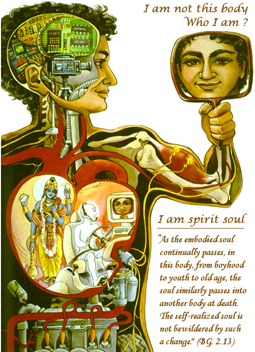 I am not this body, I am spirit soul!