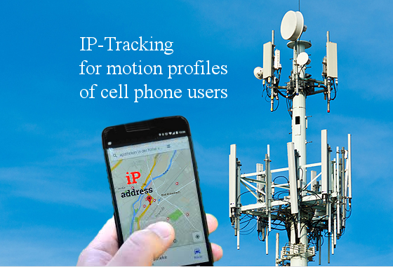telecommunication provider delivers motion profiles of cell phone users to government