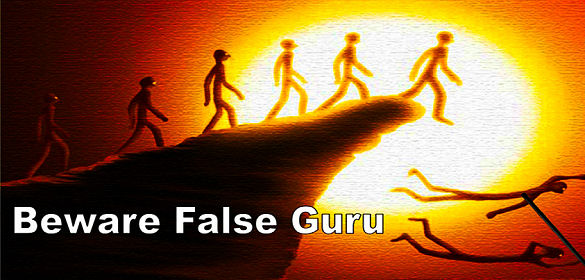 IskCon Lemmings - The Blind following the Blind, both falling into a ditch