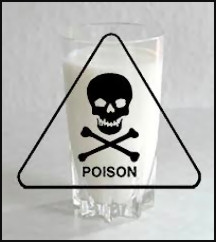 SO ISCKON IS LIKE THAT, POISONED MILK