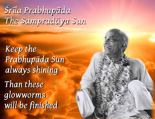 Srila Prabhupada - the sampradaya sun
