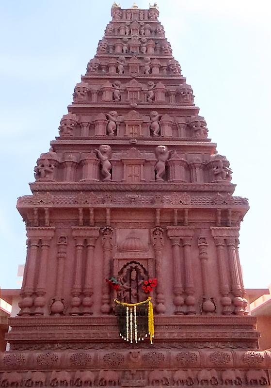 Shri Shri Radha Govind Mandir (Red Stone Temple) - Bhagavad Dharma Samaj - Vrindavan Raman Reti