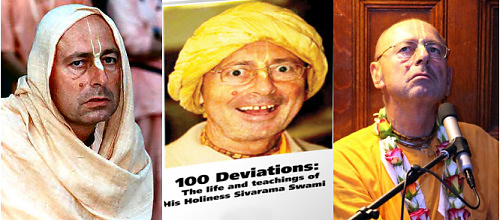 Sivarama swami suffering from serious philosophical misconceptions