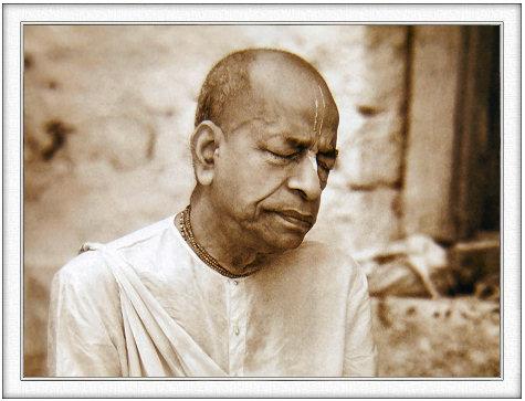 Srila Prabhupada Acarya and initiating guru of Iskcon