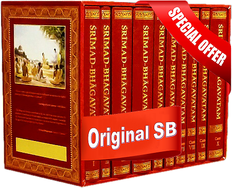 Original Srimad Bhagavatam Set